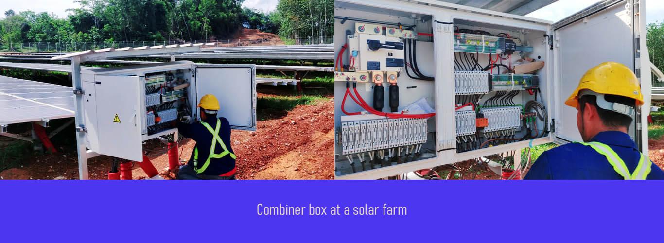 combiner box solar pv system 1