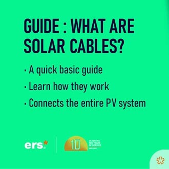 learning series - what are solar cables