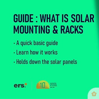 What are solar mounting and racks?