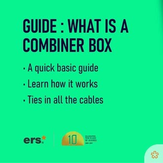 learning series - what is a solar combiner box