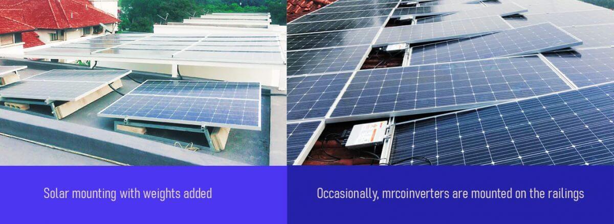 solar mounting racks - solar pv system 2