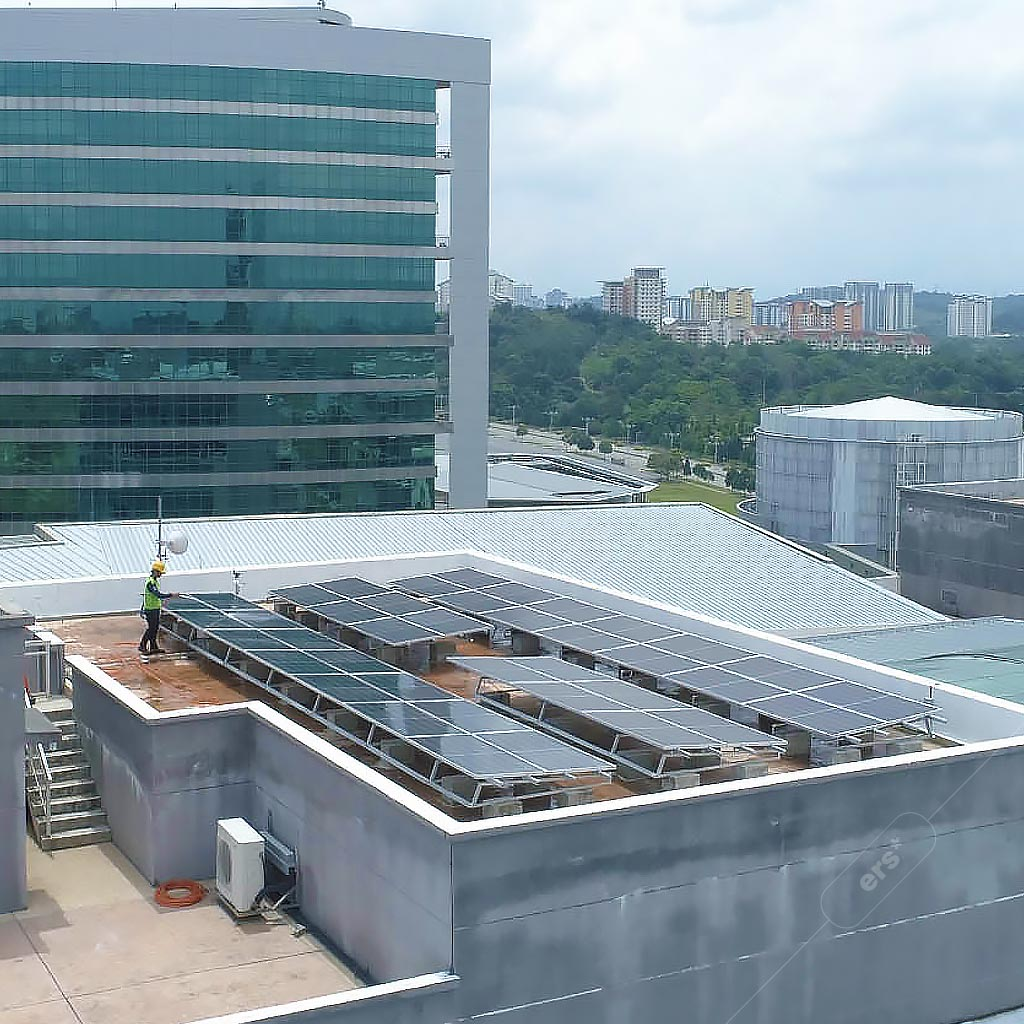 Commercial solar rooftop services by ers energy 3