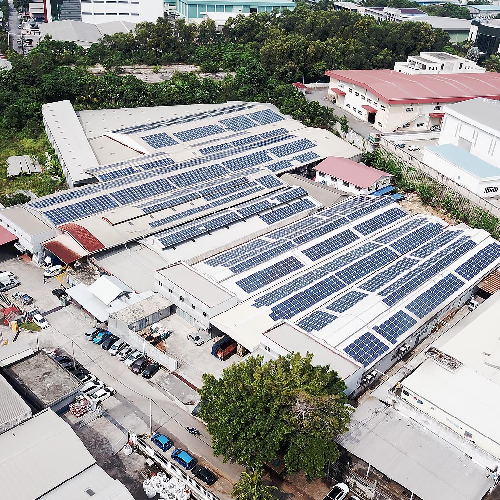 Industrial solar rooftop services by ers energy 1