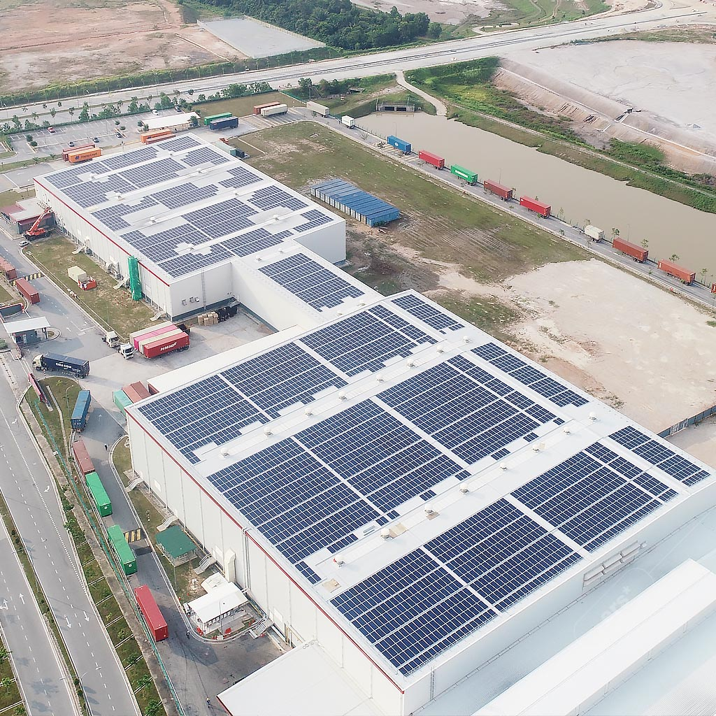 Industrial solar rooftop services by ers energy 4