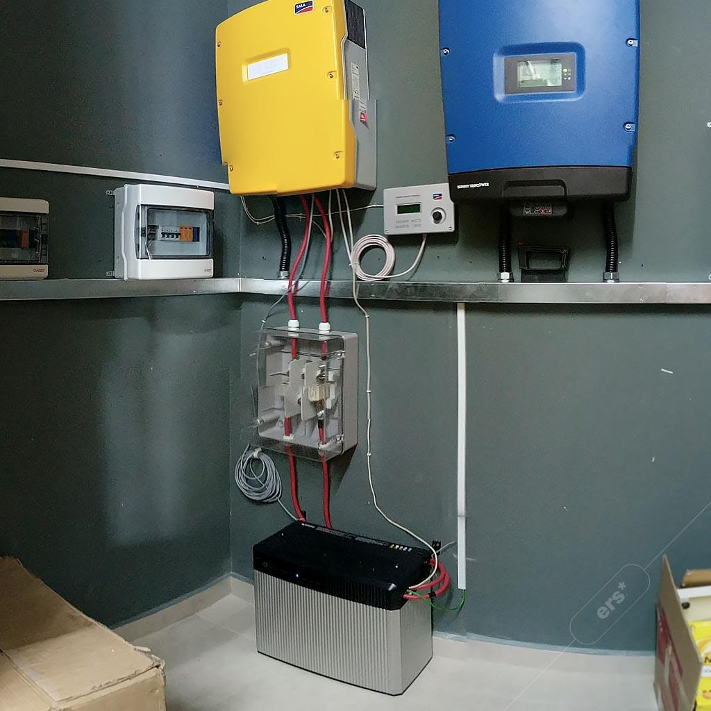 Off grid hybrid energy storage 5
