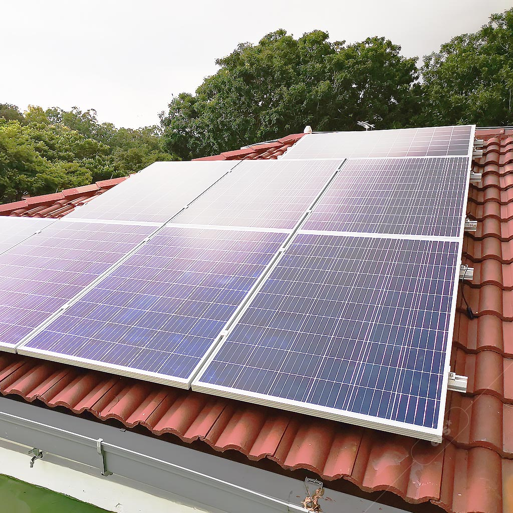 Solar power systems for homes - residential solar rooftop - sustainable eco-home