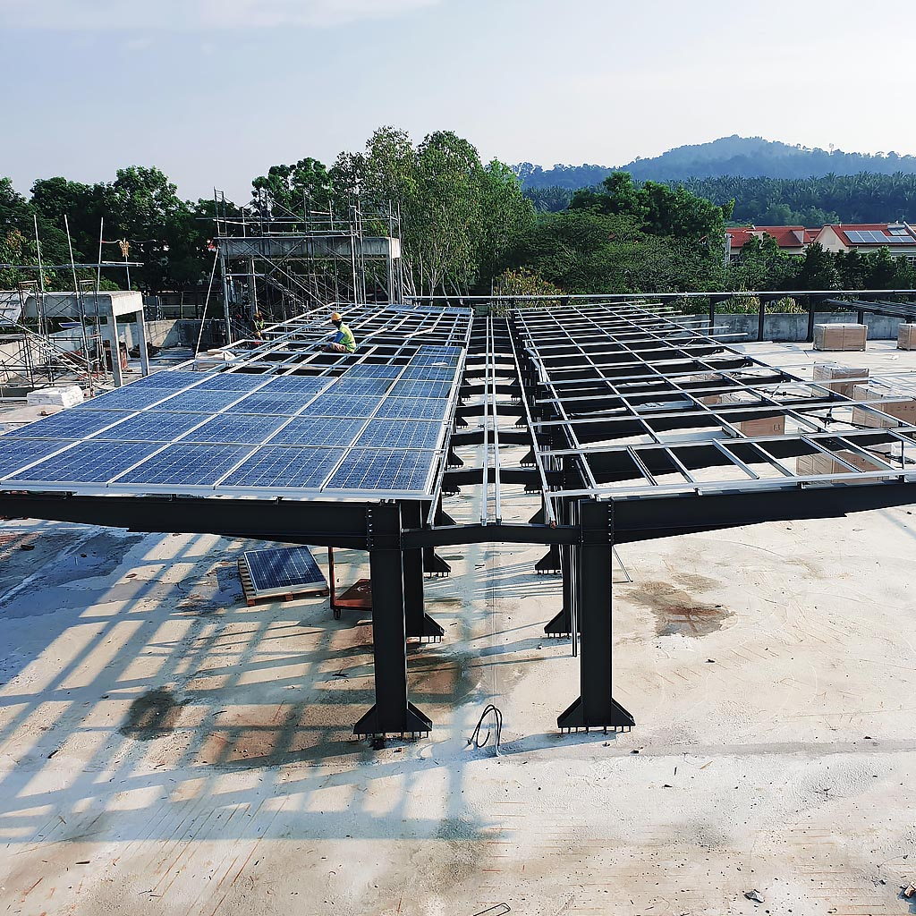 solar carport ev charging station 2