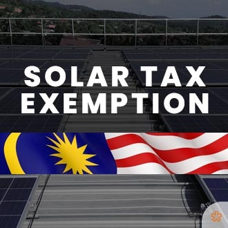 Double tax exemption for businesses going solar. Enjoy a relief of 50% off CAPEX.