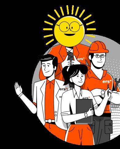 ers energy solar family